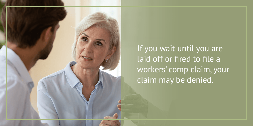 You Were Fired Before You Filed Your Claim
